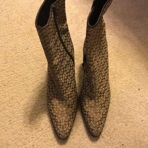 Women COACH boots!!